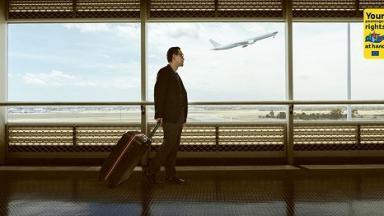 Los pasajeros afectados por las cancelaciones de vuelos con Venezuela tienen derecho a asistencia